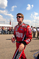 Oct 4, 2008; Talladega, AL, USA; NASCAR Sprint Cup Series driver Carl Edwards during qualifying for the Amp Energy 500 at the Talladega Superspeedway. Mandatory Credit: Mark J. Rebilas-