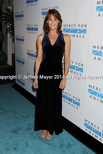 WEST HOLLYWOOD, CA- SEPTEMBER 12: Actress Alexandra Paul attends Mercy For Animals 15th Anniversary Gala at The London on September 12, 2014 in West Hollywood, California.
