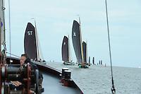 ZEILEN: Skûtsjesilen 2015, Lemmer Ahoy, ©foto Martin de Jong
