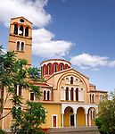 Catholic church Holy Bishopric Church of Panagia Katholiki in Limassol Cyprus
