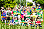 Enjoying the Finuge Hurling cul Camp on Tuesday