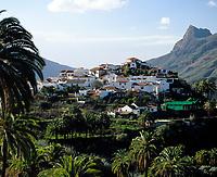 Spanien, Kanarische Inseln, Gran Canaria, Fataga, Bergdorf im Fataga-Tal | Spain, Canary Island, Gran Canaria, Fataga, mountain village at Fataga-Valley