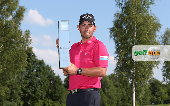 With a score of 66, Pablo Larrazabal (ESP) wins the Final Round of the 2015 BMW International Open at Golfclub Munchen Eichenried, Eichenried, Munich, Germany. 28/06/2015. Picture David Lloyd | www.golffile.ie