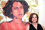 SANTA MONICA - JUN 25: Denise Weiss at the David Bromley LA Women Art Exhibition opening reception at the Andrew Weiss Gallery on June 25, 2016 in Santa Monica, California