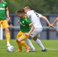 Preston North End's Sean Maguire in action<br /> <br /> Photographer Dave Howarth/CameraSport<br /> <br /> Football Pre-Season Friendly - AFC Flyde v Preston North End - Saturday July 13th 2019 - Mill Farm - Flyde<br /> <br /> World Copyright © 2019 CameraSport. All rights reserved. 43 Linden Ave. Countesthorpe. Leicester. England. LE8 5PG - Tel: +44 (0) 116 277 4147 - admin@camerasport.com - www.camerasport.com