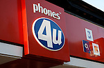 phones 4u. High street shops and shopping,  January 2009, Lowestoft, Suffolk, England