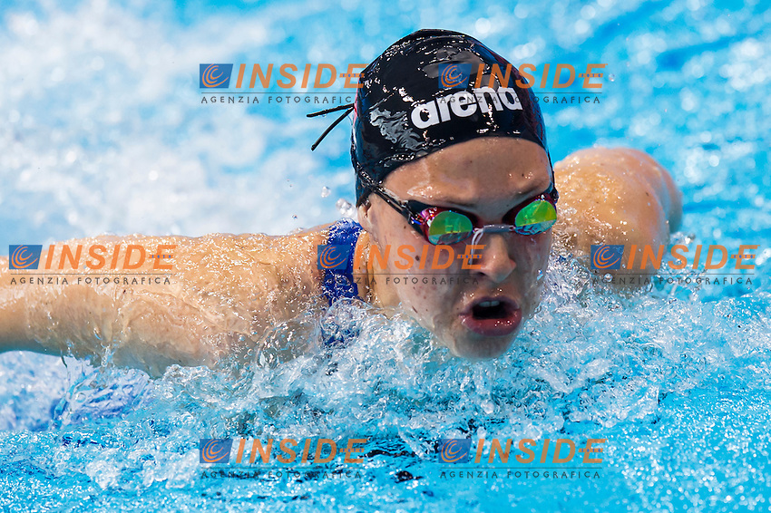FRANCESCHI Sara ITA<br /> London, Queen Elizabeth II Olympic Park Pool <br /> LEN 2016 European Aquatics Elite Championships <br /> Swimming<br /> Women's 400m medley preliminary <br /> Day 08 16-05-2016<br /> Photo Giorgio Perottino/Deepbluemedia/Insidefoto