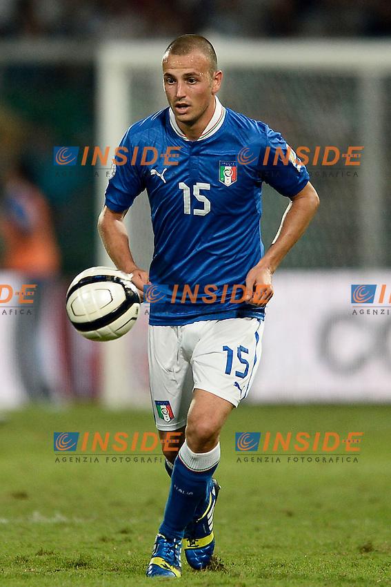 Luca Antonelli Italia <br /> Palermo 06-09-2013 Stadio La Favorita  - qualificazione mondiale Brasile 2014 / Italia-Bulgaria / foto Daniele Buffa/Image Sport/Insidefoto