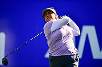 Lizette Salas, of the United States, plays her shot from the first tee during the third round of the ANA Inspiration at the Mission Hills Country Club in Palm Desert, California, USA. 3/31/18.<br /> <br /> Picture: Golffile | Bruce Sherwood<br /> <br /> <br /> All photo usage must carry mandatory copyright credit (&copy; Golffile | Bruce Sherwood)during the second round of the ANA Inspiration at the Mission Hills Country Club in Palm Desert, California, USA. 3/31/18.<br /> <br /> Picture: Golffile | Bruce Sherwood<br /> <br /> <br /> All photo usage must carry mandatory copyright credit (&copy; Golffile | Bruce Sherwood)
