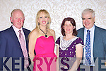 Jerimiah, Dianne Crean Ballyheigue, Maria Culloty-Murphy Killarney and Ted Gibney Cork at the Cork/Kerry social in the Killarney Oaks Hotel on Saturday night....