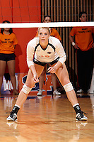 SAN ANTONIO , TX - NOVEMBER 12, 2009: The Texas State University Bobcats vs. The University of Texas At San Antonio Roadrunners Women's Volleyball at the UTSA Convocation Center. (Photo by Jeff Huehn)