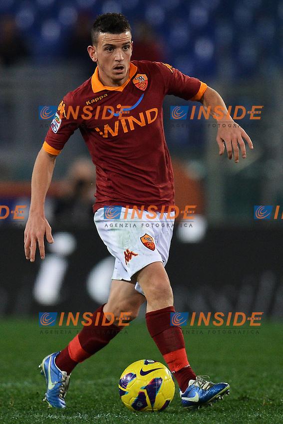 Alessandro Florenzi Roma .Roma 20/01/2013 Stadio Olimpico.Football Calcio 2012/2013 Serie A.Roma Vs Inter 1-1.Foto Andrea Staccioli Insidefoto