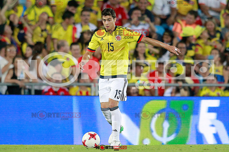 Colombia's Stefan Medina during international friendly match. June 13,2017.(ALTERPHOTOS/Acero) (NortePhoto.com) (NortePhoto.com)