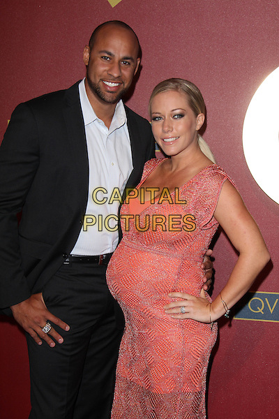 BEVERLY HILLS, CA - February 28: Hank Baskett, Kendra Wilkinson at QVC 5th Annual Red Carpet Style Event, Four Seasons, Beverly Hills,  February 28, 2014.  <br /> CAP/MPI/JO<br /> &copy;Janice Ogata/MediaPunch/Capital Pictures