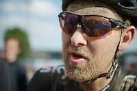 Paris-Roubaix 2014 was the very last pro race for Gabriel Rasch (NOR/SKY)