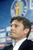 Getafe's General Manager Toni Munoz. August 5, 2014. (ALTERPHOTOS/Acero)