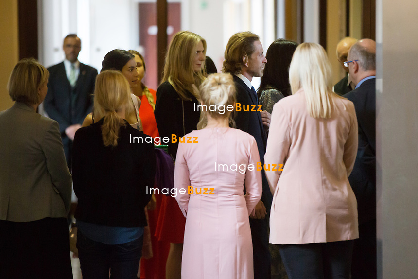 Mariage civil du Prince Ernst junior de Hanovre et de Ekaterina Malysheva, &agrave; l' h&ocirc;tel de ville de Hanovre.<br /> Allemagne, Hanovre, 6 juillet 2017.<br /> Civil wedding of Prince Ernst Junior of Hanover and Ekaterina Malysheva at the new Town Hall in Hanover.<br /> Germany, Hannover, 6 july 2017<br /> Pic : Alessandra de Osma , Prince Andrea Casiraghi
