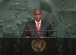 72 General Debate – 22 September <br /> <br /> His Excellency Faustin Archange Touadera, President of the Central African Republic