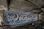 Graffiti and the abandoned building