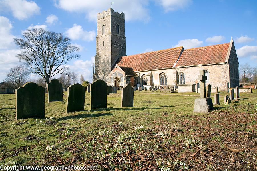 Parish church of St John the Baptist, Snape, Suffolk, England, UK
