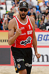30.05.2015, Moskau, Vodny Stadion<br /> Moskau Grand Slam, Main Draw / Halbfinale<br /> <br /> Jubel Pablo Herrera (#1 ESP)<br /> <br />   Foto &copy; nordphoto / Kurth