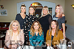 Aisling Carroll, Caherslee, Tralee, celebrates her 30th birthday with family at Denny Lane on Saturday Pictured l-r Kitty Lucid Carroll, Aisling Carroll, Patricia Duggan, Back l-r Rachel Bowler, Mairead Lynch, Bet O'Mahony and Joanne Lynch