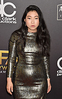 BEVERLY HILLS, CA - NOVEMBER 04: Awkwafina  arrives at the 22nd Annual Hollywood Film Awards at the Beverly Hilton Hotel on November 4, 2018 in Beverly Hills, California.<br /> CAP/ROT/TM<br /> &copy;TM/ROT/Capital Pictures
