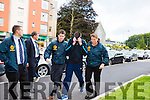 Marcus O'Rourke (Double check with Aidan) arrives at Killarney Courthouse on Saturday evening