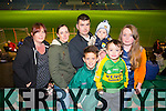 CBS the Green Football Challenge Match Fundraising for a new All Weather Pitch - CBS the Green all stars V All Ireland Champions 2014 at Austin Stacks Park on Tuesday. Pictured Catherine Fitzmaurice, Carla Griffin, Timmy Griffin, Conor Fitzmaurice, Cian Griffin, Kayleigh Fitzmaurice, Mark Griffin from Camp