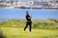 Conor Moore (AM) on the 4th tee during the Pro-Am of the Irish Open at LaHinch Golf Club, LaHinch, Co. Clare on Wednesday 3rd July 2019.<br /> Picture:  Thos Caffrey / Golffile<br /> <br /> All photos usage must carry mandatory copyright credit (© Golffile | Thos Caffrey)