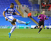 30th September 2017, Madejski Stadium, Reading, England; EFL Championship football, Reading versus Norwich City; Garath McCleary of Reading shoots at goal