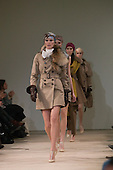 February 2009 - London Fashion Week, Aquascutum showing Autumn/Winter collection featuring Yasmin LeBon.