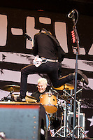 Anti-Flag performing at the Big Day Out festival, Flemington Racecourse, Melbourne, 28 January 2008