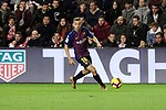 FC Barcelona's Jordi Alba during La Liga match between Rayo Vallecano and FC Barcelona at Vallecas Stadium in Madrid, Spain. November 03, 2018. (ALTERPHOTOS/A. Perez Meca)