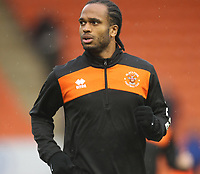 Blackpool's Nathan Delfouneso<br /> <br /> Photographer Mick Walker/CameraSport<br /> <br /> The EFL Sky Bet League One - Blackpool v Bristol Rovers - Saturday 3rd November 2018 - Bloomfield Road - Blackpool<br /> <br /> World Copyright © 2018 CameraSport. All rights reserved. 43 Linden Ave. Countesthorpe. Leicester. England. LE8 5PG - Tel: +44 (0) 116 277 4147 - admin@camerasport.com - www.camerasport.com