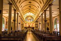 Interior of the Metropolitan Cathedral (Catedral Metropolitana) in San Jose, Costa Rica