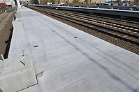 Construction Progress Railroad Station Fairfield Metro Center - One of 48 images taken on site visit 16 of once per month chronological photography