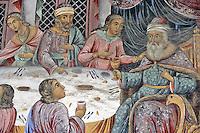 BG41202.JPG BULGARIA, RILA MONASTERY, CHURCH OF NATIVITY, frescoes