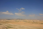 Israel, Negev. The view north of Tel Arad