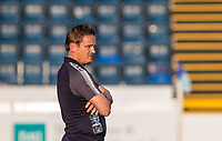 AFC Wimbledon Manager Neal Ardley ahead of the pre season friendly 'Cherry Red Records Cup' match between Wycombe Wanderers and AFC Wimbledon at Adams Park, High Wycombe, England on 25 July 2017. Photo by Andy Rowland.