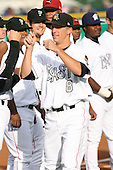 June 17th 2008:  Evan Frey of the South Bend Silver Hawks, Class-A affiliate of the Arizona Diamondbacks, during the Midwest League All-Star Game at Dow Diamond in Midland, MI.  Photo by:  Mike Janes/Four Seam Images