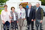 Mary Casey, Annie Herlihy, Sheila Looney, Johnny Crowley and Tim Looney at the Toureencahill Community funday on Sunday