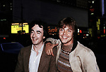 Anthony Daniels, C3PO and Mark Hamill on May 1, 1980 in New York City.