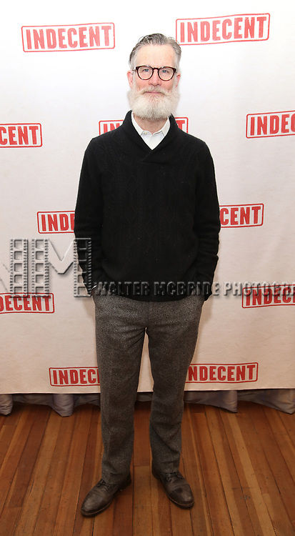 "Tom Nelis attends the ""Indecent"" Media Day at Playwrights Horizons on March 13, 2017 in New York City."
