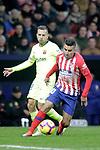 Club Atletico de Madrid's Angel Correa and Futbol Club Barcelona's Arthur Melo  during La Liga match. November 24,2018. (ALTERPHOTOS/Alconada)
