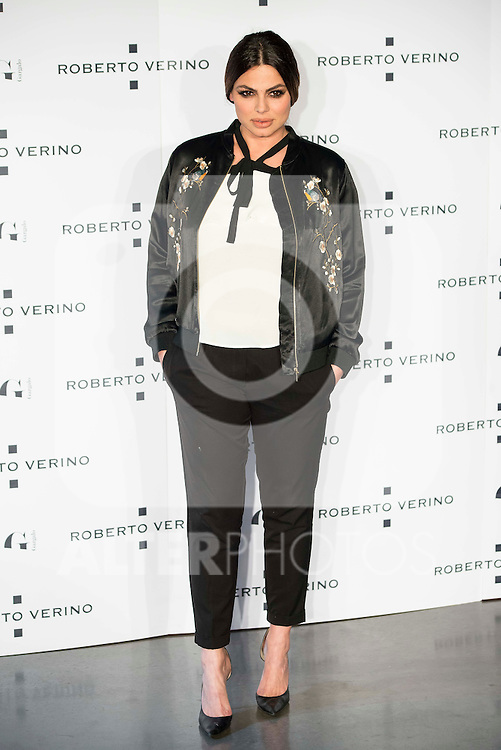 "Guest during the presentation of the new Spring-Summer collection ""Un Balcon al Mar"" of Roberto Verino at Platea in Madrid. March 16, 2016. (ALTERPHOTOS/Borja B.Hojas)"