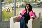 Nashita Henry, Leader in Customer-Centricity practice on April 23, 2015. Photo by Paul Morse