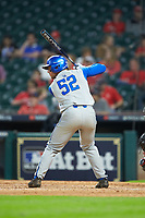 Ben Aklinski (52) of the Kentucky Wildcats at bat against the Houston Cougars in game two of the 2018 Shriners Hospitals for Children College Classic at Minute Maid Park on March 2, 2018 in Houston, Texas.  The Wildcats defeated the Cougars 14-2 in 7 innings.   (Brian Westerholt/Four Seam Images)