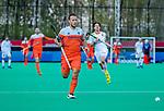ROTTERDAM - Jeroen Hertzberger (NED)  tijdens   de Pro League hockeywedstrijd heren, Nederland-Spanje (4-0) .  COPYRIGHT KOEN SUYK