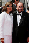 LOS ANGELES, CA. - September 13: TV Personality James Lipton and wife arrive at the 60th Primetime Creative Arts Emmy Awards held at Nokia Theatre on September 13, 2008 in Los Angeles, California.